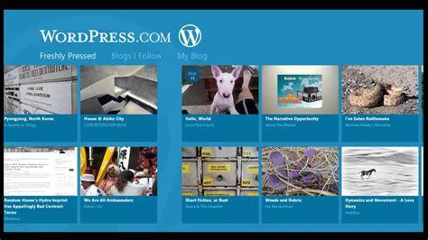 Como instalar la aplicacion Wordpress.com en Windows 8 ...