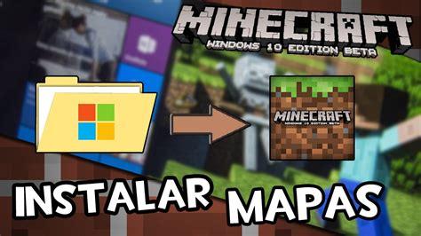 Cómo instalar mapas en Minecraft Windows 10 Edition 0.12 ...