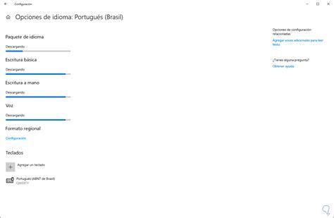 Cómo instalar o desinstalar paquete de idioma Windows 10 ...
