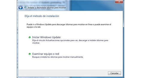 Cómo instalar paquete de idiomas en Windows, incluyendo ...