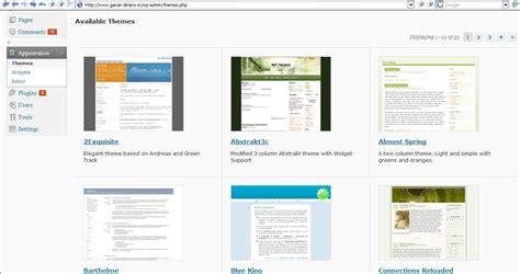Como instalar plantillas en Wordpress