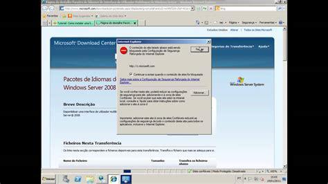 Como instalar um pacote de idioma no Windows Server 2008 ...