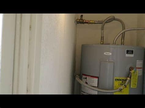 Como instalar un calentador de agua electrico   YouTube