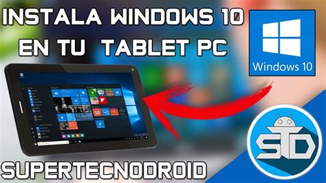 Como Instalar Windows 10 En Tablet PC Desde un USB   Paso ...