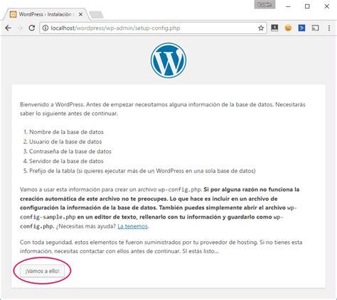 Cómo instalar WordPress en local  instalación nueva y ...