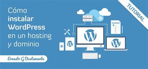 Cómo Instalar WordPress gratis en tu Hosting | Diseño web ...