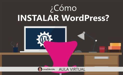 ¿Cómo instalar WordPress? | Diseño web, Cursos de diseño ...
