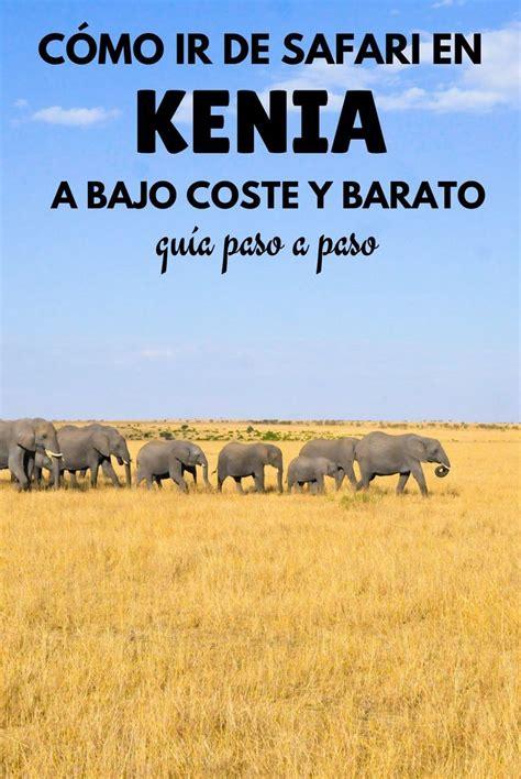 Cómo ir de safari en Kenia a bajo coste y barato: Guía ...
