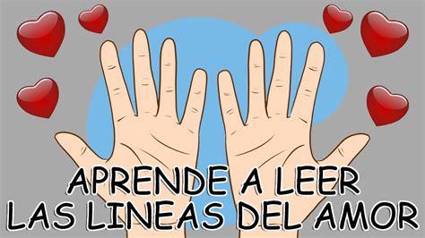 Como Leer Las Lineas De La Mano / Aprende A Leer La Linea ...