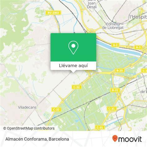 Cómo llegar a Almacén Conforama en Sant Boi De Llobregat ...