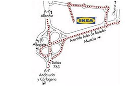 Cómo llegar a Ikea Murcia