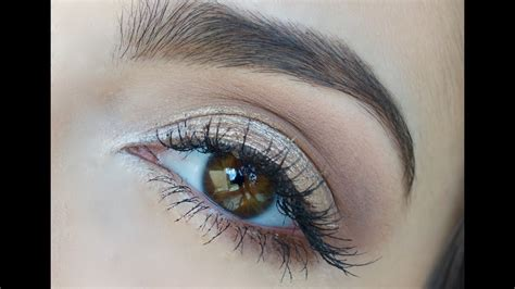 Como maquillar ojos para PRINCIPIANTES   Anna Sarelly ...
