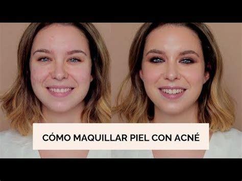 Cómo maquillar piel con acné + Ahumado suave   Makeupzone ...