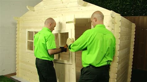 Cómo montar una caseta de jardín · LEROY MERLIN   YouTube
