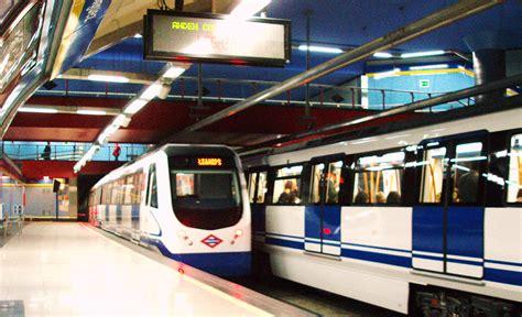 Cómo moverte por el metro de Madrid  La Aventura Española