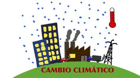 ¿Cómo nos afecta el Cambio Climático?   YouTube