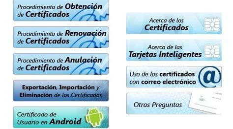 Cómo obtener el certificado digital | Cursosinemweb.es
