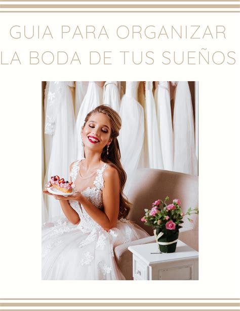 ¿Cómo organizar una boda   Organizar boda, Boda, Bodas de ...