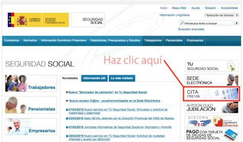 Cómo pedir cita en la Seguridad Social   DeFinanzas.com