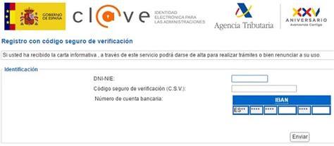 Cómo pedir la Cl@ve PIN de la Agencia Tributaria