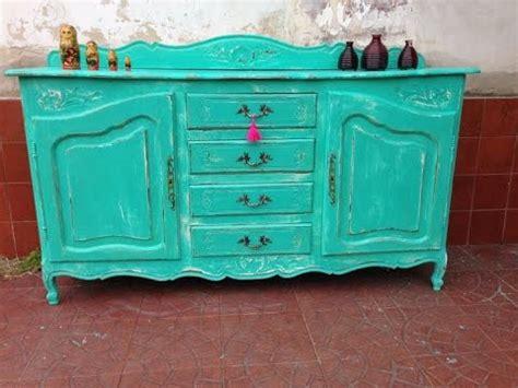 CÓMO PINTAR DETALLES RÚSTICOS en muebles vintage. Color ...