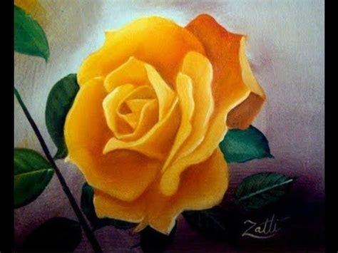 COMO PINTAR UMA ROSA | Flower painting, Rose painting ...