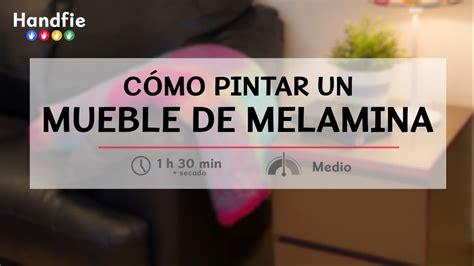 Cómo pintar un mueble de melamina · Handfie DIY   YouTube