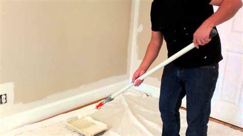 Como pintar una pared interior   YouTube