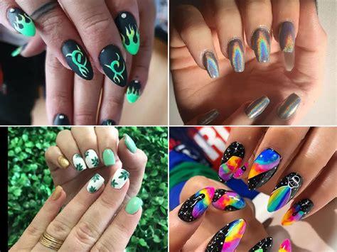 Cómo pintarse las uñas: Dibujos para pintar uñas 2021 ...