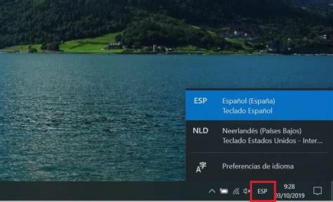 Cómo poner el teclado en Windows 10 en español