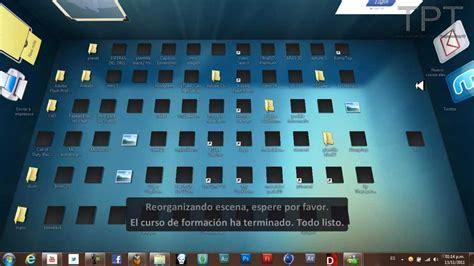 COMO PONER ESCRITORIO 3D  PARA TODO WINDOWS Windows 7 ...