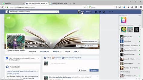 Cómo poner un video de perfil en Facebook   YouTube