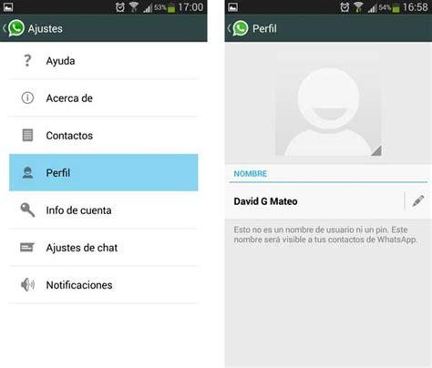 Cómo poner y cambiar la foto de perfil de WhatsApp ...