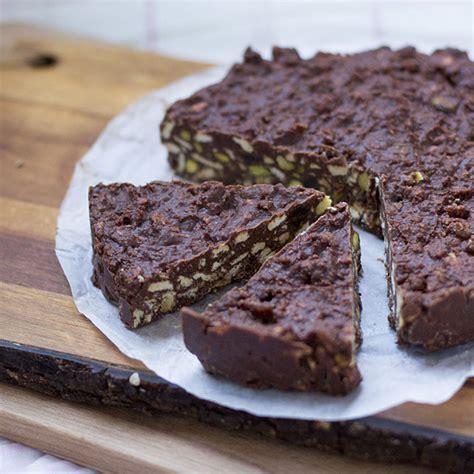 Cómo preparar tarta de chocolate sin horno con Thermomix ...