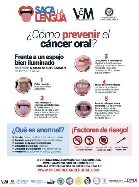 ¿Como prevenir el cáncer oral?