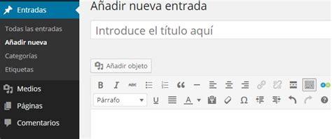 ¿Cómo publicar una entrada en Wordpress?   SEO para Google