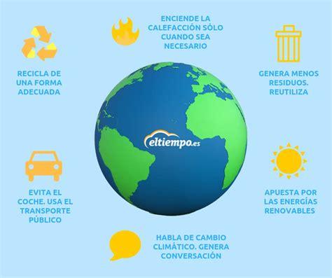 Cómo puedo ayudar yo contra el cambio climático