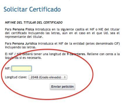 ¿Cómo puedo solicitar el certificado digital?