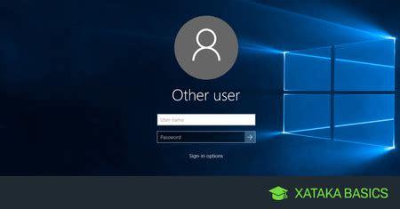 Cómo quitar la contraseña de usuario en Windows 10