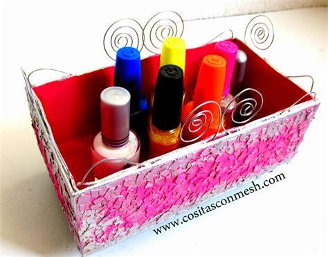 Cómo reciclar una caja de cartón Manualidades ~ cositasconmesh