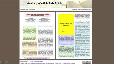 Cómo reconocer un artículo académico o científico   YouTube