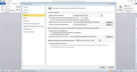 Cómo recuperar archivos no guardados en Office 2010 ...