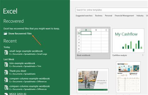 Cómo Recuperar datos de Excel Después Ha hecho clic ...