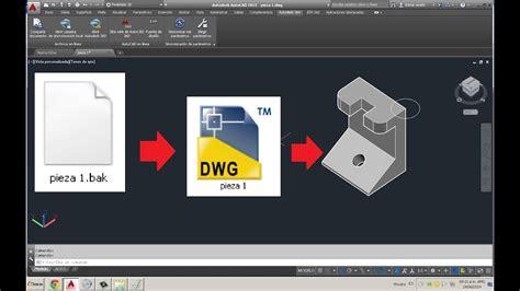 Como recuperar un archivo de AutoCAD    Como recuperar ...