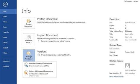 ¿Cómo Recuperar un Archivo de Word sin Guardar o Eliminado ...
