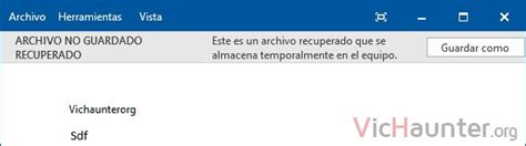 Cómo recuperar un documento no guardado en Microsoft Word ...