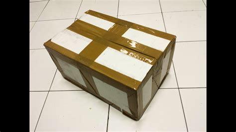 Como reforzar una caja de cartón frágil en resistente y ...