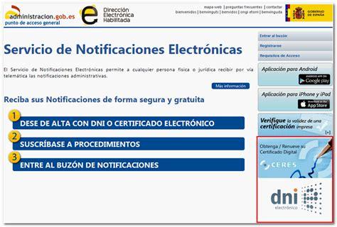 Cómo registrarse en la Dirección Electrónica Habilitada ...