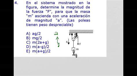 Como resolver problemas de dinámica, poleas, segunda ley ...