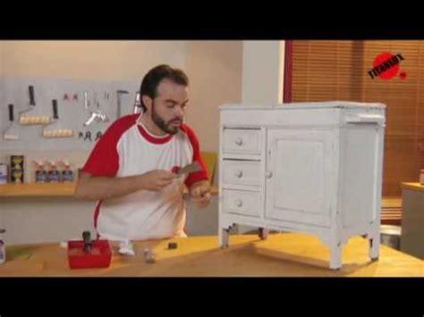 Cómo restaurar un mueble   YouTube